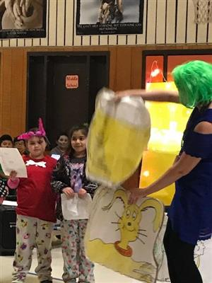 Dr. Seuss Day celebrated  with a Friday play