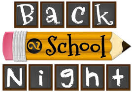Back To School Nights Dates & Info