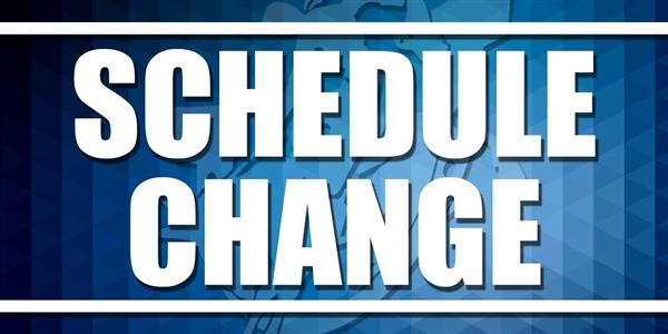 Important Schedule Changes Start 8/28/2020
